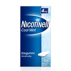 NICOTINELL Kaugummi Cool Mint 4 mg 96 St