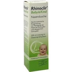 RHINOCLIR Baby & Kind Nasendusche Lösung 100 ml