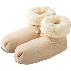 Warmies Slippies Boots Comfort Gr.37-41 beige 1 St