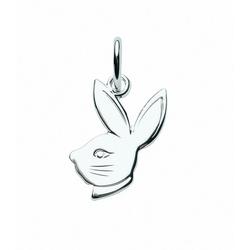 Adelia´s Kettenanhänger 925 Silber Anhänger Hasenkopf
