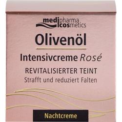 OLIVENÖL INTENSIVCREME Rose Nachtcreme 50 ml