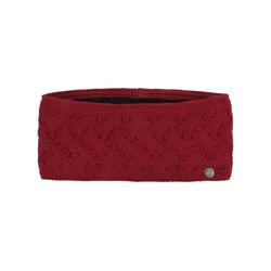 Lierys Stirnband (1-St) Stirnband mit Futter rot