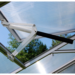 Beckmann Gewächshaus-Fensteröffner A, 30 kg max. Hebekraft, für Gewächshaus Allplanta®, weiß