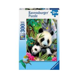 Ravensburger Puzzle Puzzle, 300 Teile XXL, 49x36 cm, Lieber Panda, Puzzleteile