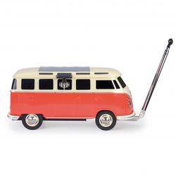 VW Collection - VW T1 Bus Fahrbare Kühlbox - Kühlbox Gr 84 x 46 x 38 cm rot/grau/weiß/schwarz