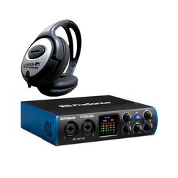 Presonus Presonus Studio 24c USB Interface + Kopfhörer Subwoofer