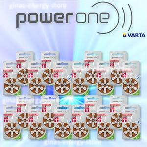 120 X Varta Powerone Hörgerätbatterien Typ 312 Hörgerätebatterien Zl3
