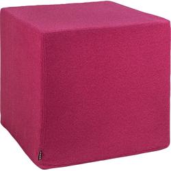 H.O.C.K. Hocker Livigno Cube (1 St), 45/45/45 cm lila
