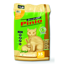 BENEK Super Pinio Katzenstreu Zitrus 35 l