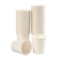 VBS Becher, Papier, Weiß, 210 ml, 50 Stück