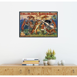 Posterlounge Wandbild, Circus Poster von 1920 100 cm x 70 cm
