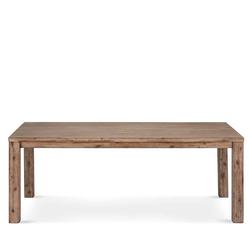 Vollholztisch aus Akazie Massivholz rustikalen Landhausstil