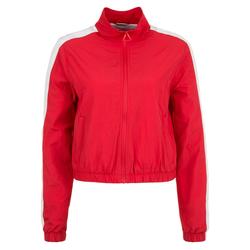 Urban Classics Damen Jacke rot / weiß