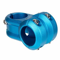 Spank MTB-Vorbau Spoon 2.0 Blau, 31.8 mm, Vorlauf 40 mm