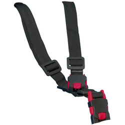 Hamax Kinder-Sicherheitsgurt Gurtsystem Kindersitz Smiley/Siesta schwarz Rad-Ausrüstung Radsport Sportarten