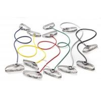 Thera-Band Bodytrainer Tubing mit flexiblen Griffen silberfarben