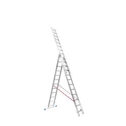 Dreiteilige leiter 3 x 12 (7,43 m)