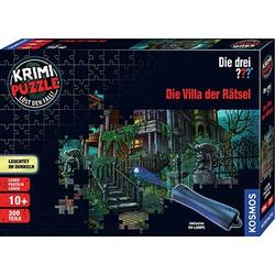 KOSMOS KRIMI-PUZZLE Die drei??? Die Villa der Rätsel Puzzle 300 Teile