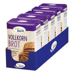 Kornmühle Backmischung Vollkornbrot 1 kg, 5er Pack