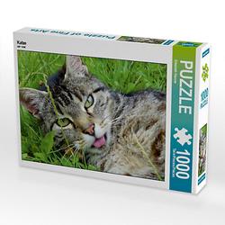 Katze Lege-Größe 64 x 48 cm Foto-Puzzle Bild von Elisabeth Stanzer Puzzle