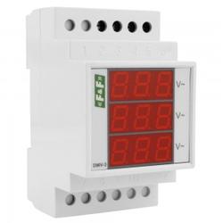 3-Phasige Digitale Spannungsanzeiger Spannungsanzeige DMV-3 F&F 1740