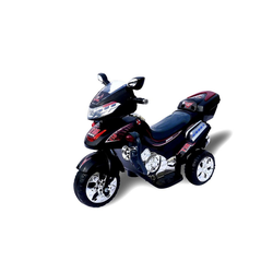 Actionbikes Motors Elektro-Kinderdreirad Kinder Elektroauto C031, Belastbarkeit 30 kg, Elektro Motorrad / Auto / Dreirad schwarz