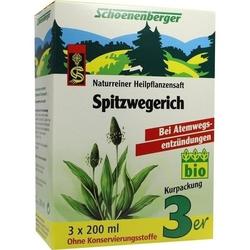 SPITZWEGERICHSAFT Schoenenberger 600 ml