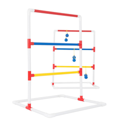 Hey! Play! Ladder Toss Outdoor Roundnet Game Set