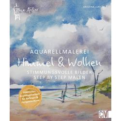 Aquarellmalerei - Himmel & Wolken: eBook von Kristina Jurick