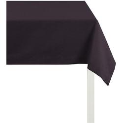 Tischdecke, 4362 Rips - UNI, APELT (1-tlg.) schwarz Tischdecken Tischwäsche
