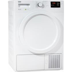 Wärmepumpentrockner DPS 7405 W3, 7 kg, Trockner, 720163-0 weiß weiß