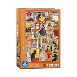 empireposter Puzzle Klassische Theater und Oper Plakate - 1000 Teile Puzzle Format 68x48 cm., 1000 Puzzleteile