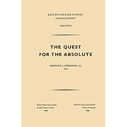 The Quest for the Absolute - Buch
