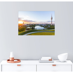 Posterlounge Wandbild, Olympiapark in München 100 cm x 70 cm
