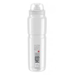 Elite Trinkflasche Trinkflasche Elite Fly MTB 950 ml, klar/grau