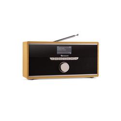 Auna Weimar DAB-Radio Internet-Radio Bluetooth DAB+ UKW Wecker portabel Radio (Bluetooth, WLAN)