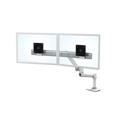ergotron LX Dual Direct Arm Monitor-Halterung weiß