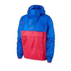Nike Sportswear Herren Jacke blau / rot