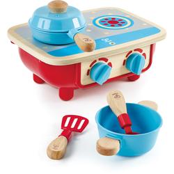 Hape Kinder-Herd Küchenset - Herd bunt Kinder Kinderküchen Zubehör Kaufladen