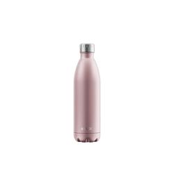 FLSK Isolierflasche, FLSK Trinkflasche Isolierflasche Edelstahl 750ml Doppelwandig Thermoflasche rosa