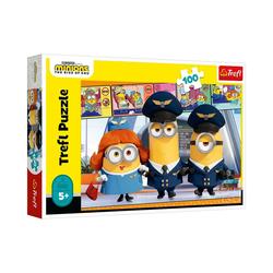 Trefl Puzzle Puzzle Minions, 100 Teile, Puzzleteile