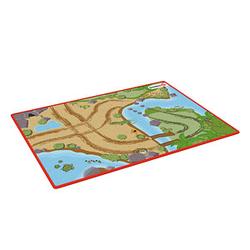 Schleich® Spielteppich Wild Life grün/bunt 92,0 x 133,0 cm