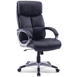 Midori XXL Design Büro Chefsessel Drehstuhl Bürostuhl 210 KG Traglast Sessel schwarz
