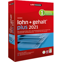 Lexware Lohn + Gehalt Plus 2021   365 Tage