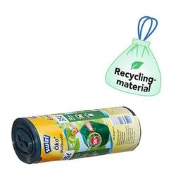 12 swirl® Zugband-Müllbeutel Öko-Müllbeutel 35,0 l