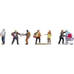 NOCH 15519 H0 Figuren Menschen beim Hamsterkauf