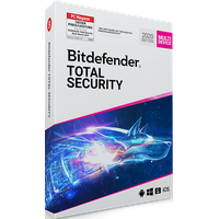BitDefender Total Security 2020 Vollversion 5 Geräte ESD DE Win