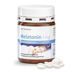 Melatonin-1 mg-Lutschtabletten