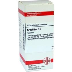 GRAPHITES D 3 Tabletten 80 St