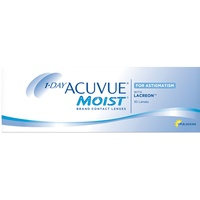 Acuvue Moist for Astigmatism 30 St. / 8.50 BC / 14.50 DIA / -0.75 DPT / -0.75 CYL / 180° AX